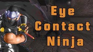 Ninja Man time ....Eye contact  #ninja #ninjagaiden