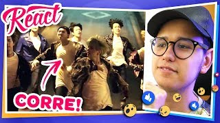 ELE PIROU! | React MV Run - BTS