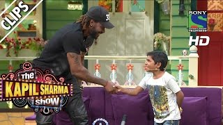When Khajoor coached Chris Gayle - The Kapil Sharma Show - Episode 11 - 28th May 2016
