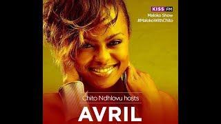 Avril Kenya on The Maloko Show With Chito Ndhlovu at Kiss FM Kenya