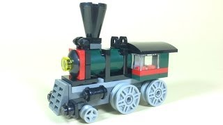 How To Build Lego STEAM TRAIN - Lego Creator 31015