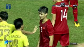 Thái Lan và Việt Nam xô xát, Văn Hậu ăn tát, Văn Toàn nhận thẻ | NEXT SPORTS