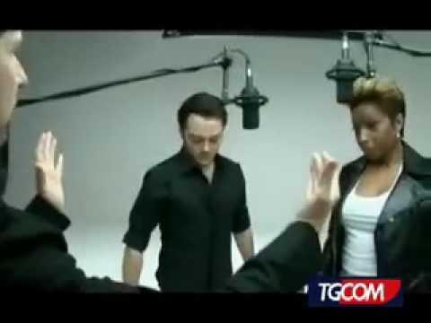 Mary J. Blige & Tiziano Ferro - Backstage for Each Tear