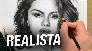 Drawing Selena Gomez in Ms Paint - Speed Painting (HBT Allen)