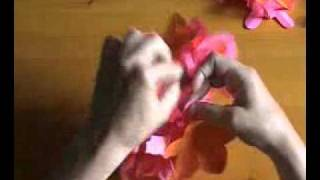3d Paper Flower Ball.flv