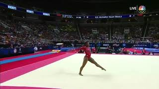 Simone Biles Floor Exercise 2016 U.S Olympic Trials Day 2