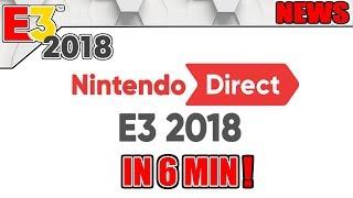 E3 2018: Nintendos E3 in 6 Minuten! - #E3 #NerdNews 288