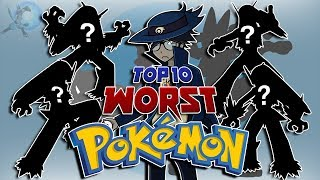 My Top 10 Least Favorite Pokémon