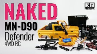 Naked Upgrades MN-D90 Defender RC Crawler