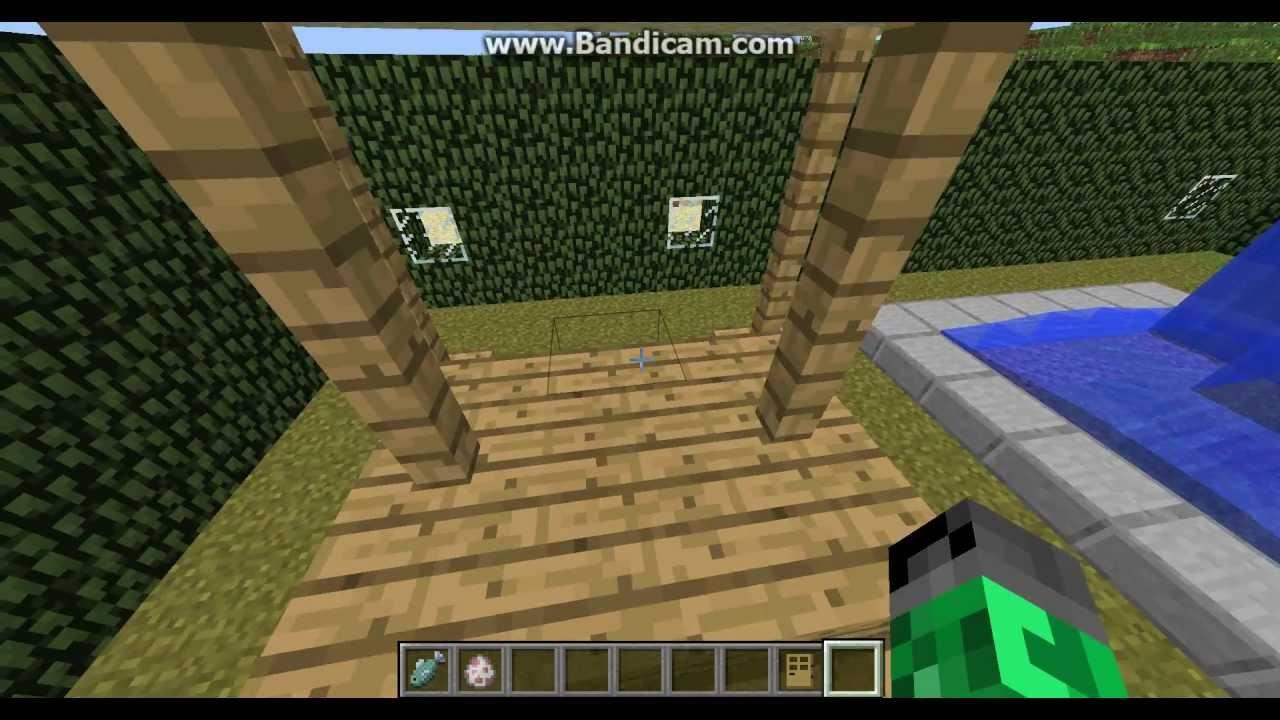 minecraft: art et deco maison et jardin (part 2/2) - YouTube