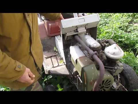 Мой трактор КМЗ -012 . Обзор .