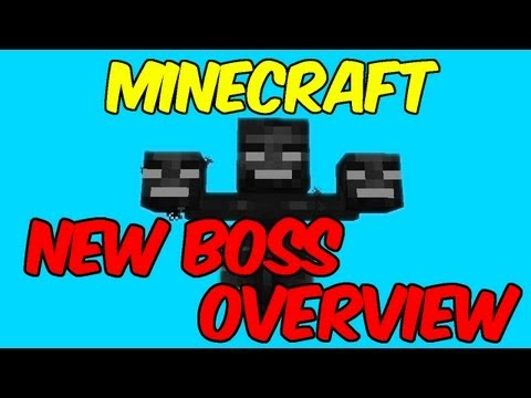 #Minecraft 1.4: *NEW* Wither Boss Overview