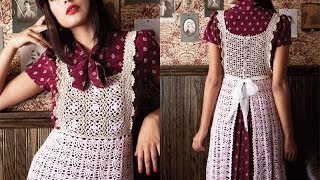 #18 Apron Dress, Vogue Knitting Crochet 2013 Special Collector