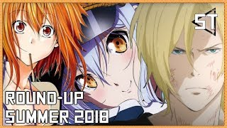 Anime I'll Be Watching This Summer (Summer 2018 Round-Up!)