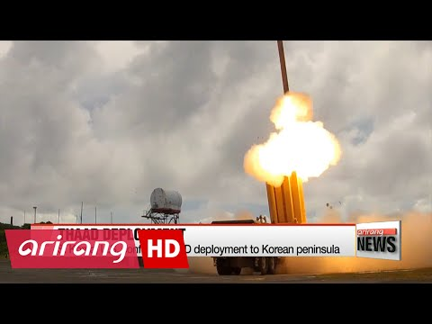 S. Korea, U.S. confirm THAAD deployment to Korean peninsula