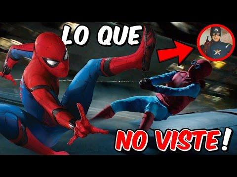 SpiderMan Homecoming Trailer 2 ANÁLISIS COMPLETO (Cosas Que NO VISTE, EasterEggs, Referencias y MÁS)