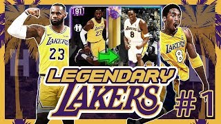 LEGENDARY LAKERS #1 - REBUILDING THE LOS ANGELES LAKERS IN NBA 2K19 MYTEAM