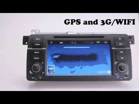 Best Aftermarket Pure Android 4.2 Car Stereo For BMW E46 M3/318/320/325/330/335 Single Din