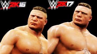 WWE 2K17 VS WWE 2K16 - COMPARACIÓN Y NUEVOS DETALLES DEL JUEGO