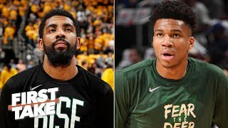 Kyrie Irving at his best is the Celtics' only hope against the Bucks - Stephen A. | First Take