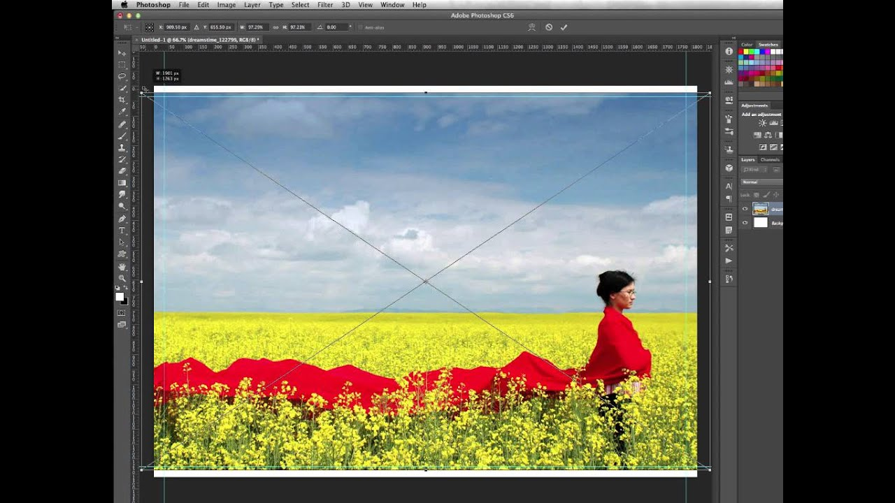 how to clean image in photoshop
