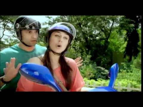 Mahindra Rodeo scooty TV ad featuring Kareena...