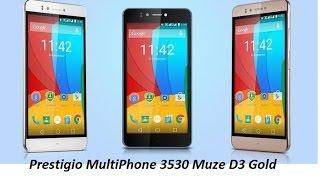 Prestigio MultiPhone 3530 Muze D3 Gold