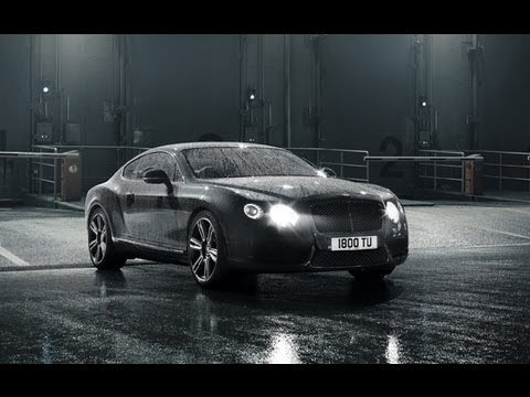 Bentley Continental GT V8 Teaser