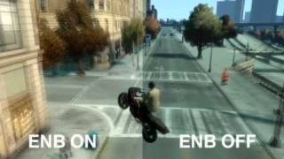 GTA IV Enb Series 0.077a mod test/comparison by TJ