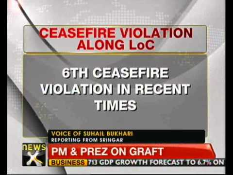 Pakistan violates ceasefire again, targets Indian posts - NewsX