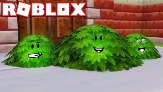 I'M A BUSH in ROBLOX BLOX HUNT / BEST HIDING SPOTS!!