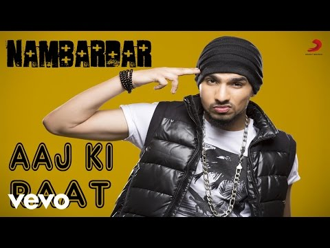Nambardar - Aaj Ki Raat Video | Da Future