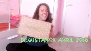 Degustabox Abril 2016