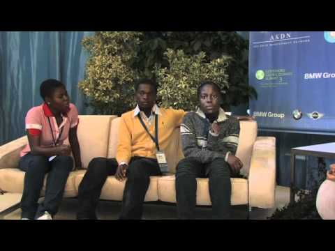 Students from the Delta State of Nigeria - Hub Culture Interview at GGCS3