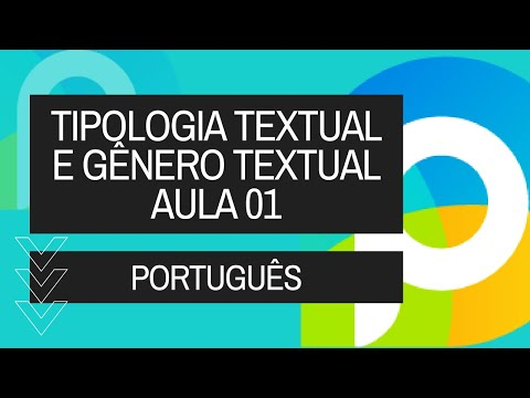 Português - Interpretação Texto - Tipologia Textual E Gênero Textual - 01 - Vídeo Aula Concurso 2014 video