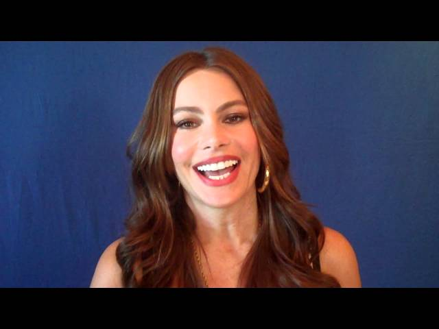 Sofia Vergara speaks with the HFPA.