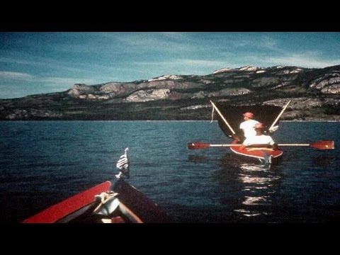 Yukon river kayak adventure, 1966