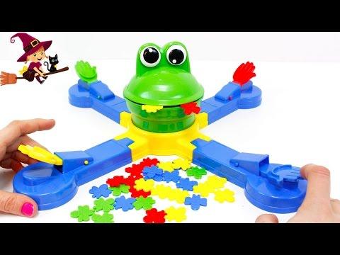 La Ranita Glotona ? Juegos de Mesa para Niños