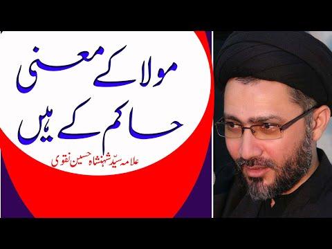 Mola K Mayne Hakeem k hain by Allama Syed Shahenshah Hussain Naqvi