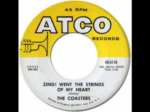 ZING! WENT THE STRINGS OF MY HEART - The Coasters [Atco 6116] 1958