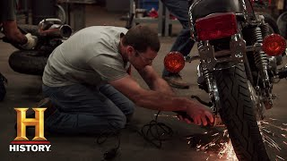 Forged in Fire: Forging Blades with Motorcycle Parts (Season 5, Episode 11) | History