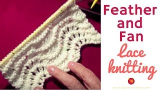 Feather and Fan Stitch Lace Pattern