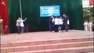 Diễn đàn học sinh với trang mạng xã hội kịch -Trường THPT Minh Khai  Đức Thọ Hà Tĩnh