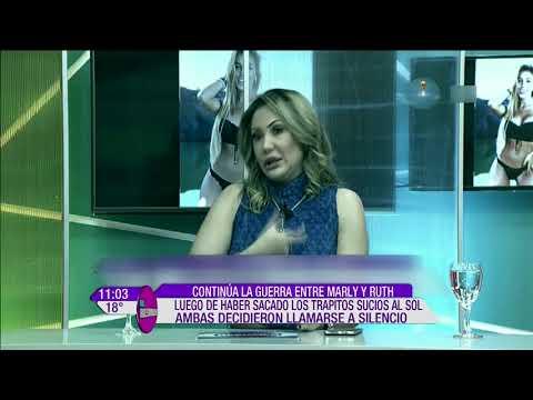 Continúa la guerra entre Marly Figueredo y Ruth Alcaraz