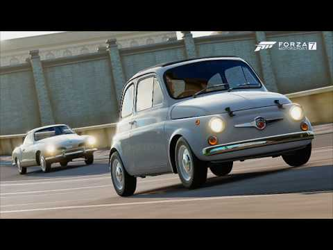 Forza Motorsports 7-Last Abarth Motors Collection (1968 Abarth 595 esseesse Coupe)