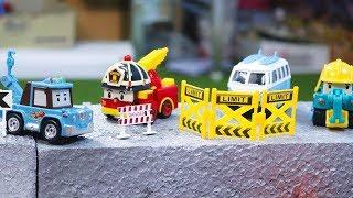 รถของเล่นโรโบคาร์ ภารกิจกู้ภัยอุบัติเหตุรถตกสะพาน Robocar Poli Rescue ของเล่นรถโพลี