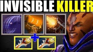 Invisible Killer ToTem + Assassinate | Dota 2 Ability Draft