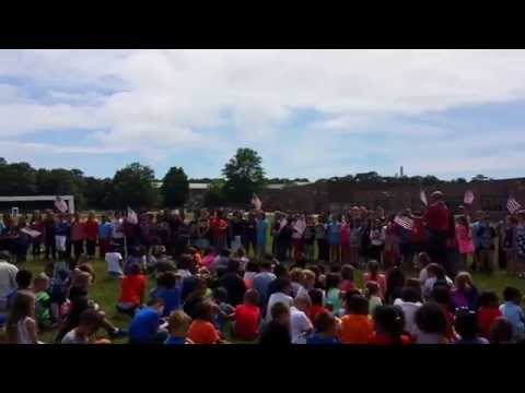 John S. Hobart Elementary School Flag Day Celebration - June 13, 2014
