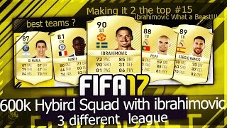 Fifa 17 600k hybird squad with Ibrahimovic He