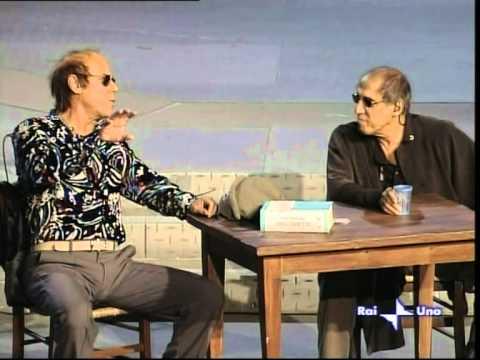 "Adriano Celentano e Teo Teocoli in ""Celentanite Pectoris"""
